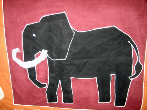 Elephant, Tribal Textiles