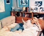 Marilyn at home