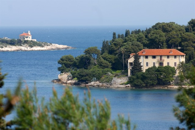 Czech villa on island of Vis